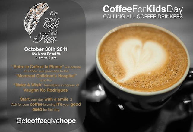 Coffee For Kids Day